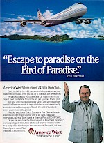 Bird of Paradise ad, 1990