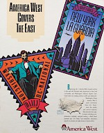 America West Covers the East, 1989