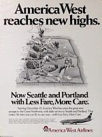 Seattle and Portland, 1986